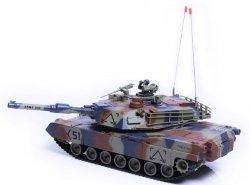 M1 Abrams ASG RTR 1:24 Strzela kulkami BB - Zielony