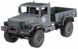 Ciężarówka wojskowa WPL B-14 1:16 4x4 2.4GHz RTR - Niebieski