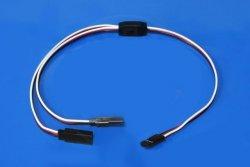 Kabel Y rozgałęziacz do lotek  15 cm - 20 cm (FUTABA)