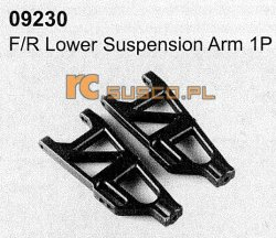 F/R lower suspension arm 2P