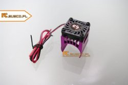 Radiator aluminiowy z wentylatorem na silnik 280-300 1:16 1:18