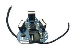Moduł BMS PCM PCB ładowania i ochrony ogniw 18650, 3S - 12V, Li-Ion, Li-Pol - gniazdo DC, przewody - płytki stykow