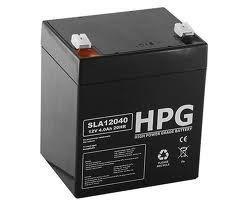 Bezobsługowy akumulator żelowy Pb 12V 4Ah