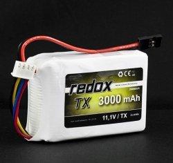 Redox 3000 mAh 11,1V - pakiet LiPo TX
