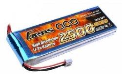 Akumulator Gens Ace 2500mAh 7.4V 25C 2S1P