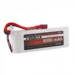 Akumulator Redox 6000 mAh 7,4V 30C - pakiet LiPo