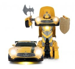Rastar: GT3 Transformer 1:14 2.4GHz RTR - Żółty
