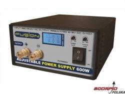 Zasilacz stabilizowany 600W z regul. 230V/5-15V 0-40A