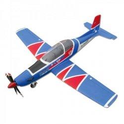 Pilatus PC9 PNP białobłękitny - Samolot FlyFly Hobby