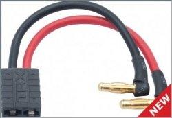 Adapter typu Gold 4 mm -> Traxxas(TRX) do pakietów Li-Pol NOSRAM