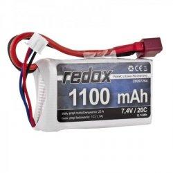 Redox 1100 mAh 7,4V 20C - pakiet LiPo