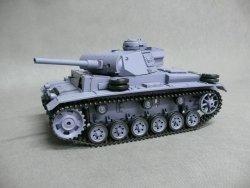 Czołg German Panzer III ausf. L 1:16 Dym Dźwięk