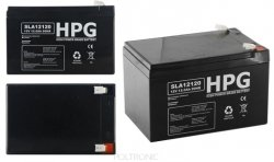Bezobsługowy akumulator żelowy Pb 12V 12Ah