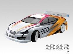 PROMOCJA! Samochód spalinowy typu On-Road TS4n PLUS 3.5 1:10 RTR 4WD (pomarańczowy) - Thunder Tiger