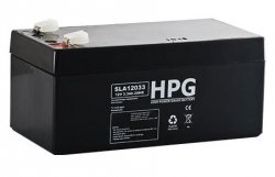 Bezobsługowy akumulator żelowy Pb 12V 3,3Ah