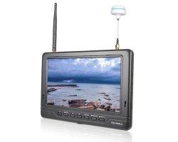 Monitor FPV FPV718 7, 600p, 5.8GHz, 40CH, 2200mA, HDMI, 18mm grubości