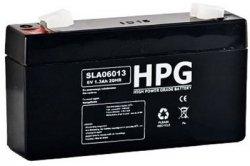 Bezobsługowy akumulator żelowy Pb 6V 1,3Ah