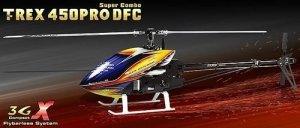 T-REX 450 PRO DFC 3GX Super Combo KX015087T - helikopter elektry