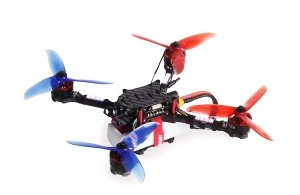 RACE COPTER ALPHA 220Q ARF GRAUPNER Dron wyścigowy FPV Racing Drone Torba 160 km/h