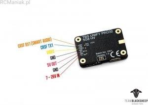 TBS Unify Pro32 HV (MMCX) 25mW-1000mW