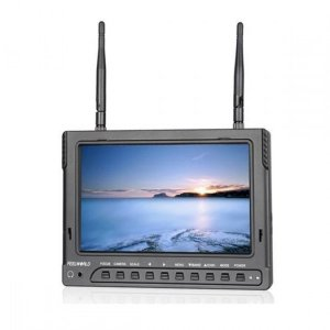 GPX Extreme: Monitor FPV FPV732 7 IPS, 600p, 5.8GHz, 32CH, 2200mA, HDMI