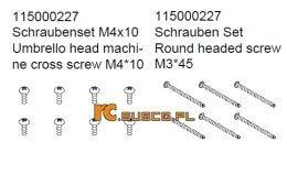 Screw set 3 - Ansmann Virus