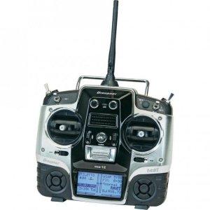 MX-12 HoTT 2.4GHz 6CH (1 odbiornik, interfejs USB, karta pamięci, akumulator, ładowarka)