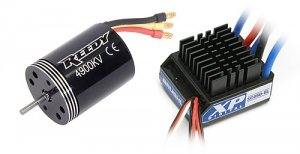 COMBO SET Reedy 540R 4900kV + Reedy XP SC450-BL ESC (#938)