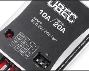 Regulator napięcia HOBBYWING UBEC 10A 2-6S
