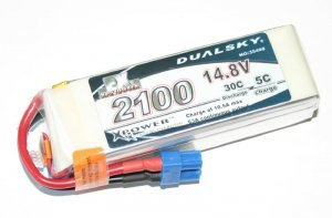 Akumulator Dualsky 2100 mAh 30C/5C 14.8V