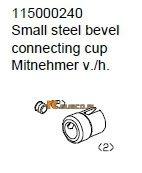 Steel bevel connecting cup - Ansmann Virus