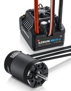 Zestaw silnik regulator Hobbywing Ezrun Max10 SCT 3660SL 4000 kV