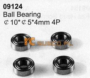 Ball bearing 10*5*4mm 4P
