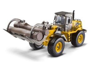 Koparko-ładowarka zdalnie sterowana Hobby Engine skala 1:14 Premium