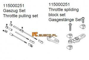 Throttle pulling set - Ansmann Virus