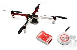 DJI F450 + Naza-M Lite + GPS + Podwozie Silniki Regle Śmigła