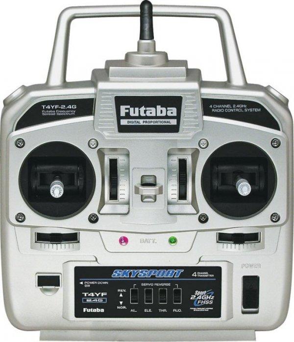 FUTABA Skysport T4YF + R2004Gf 2.4 GHz FHSS MODE DO WYBORU