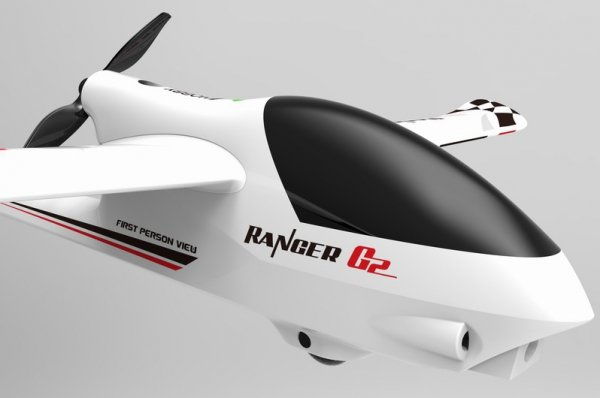 Elektroszybowiec RC RANGER G2 1.2M samolot dla początkujących z żyroskopem 757-6 RTF + Kamera 720p