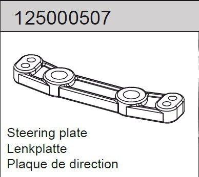 Steering plate Mad Rat