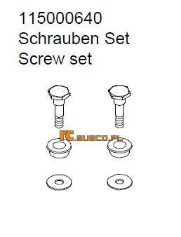 Screw set 1 - Ansmann Virus