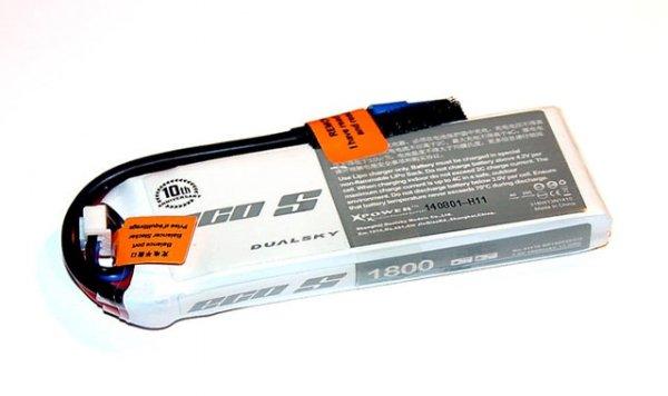 Akumulator Dualsky LI-PO 1800 mAh 25C/4C 7.4V