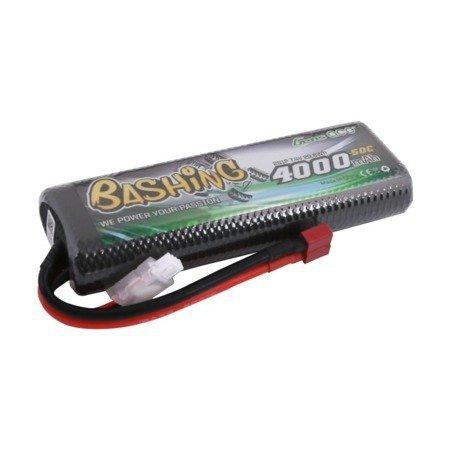 Akumulator Gens Ace 4000mAh 7,4V 50C 2S1P T-plug Bashing