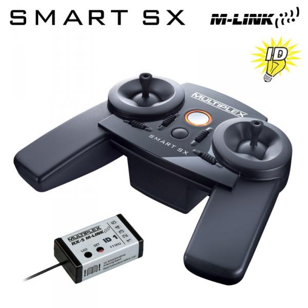 Multiplex SMART SX-6 M-LINK 2.4GHz - RX-5 M-LINK
