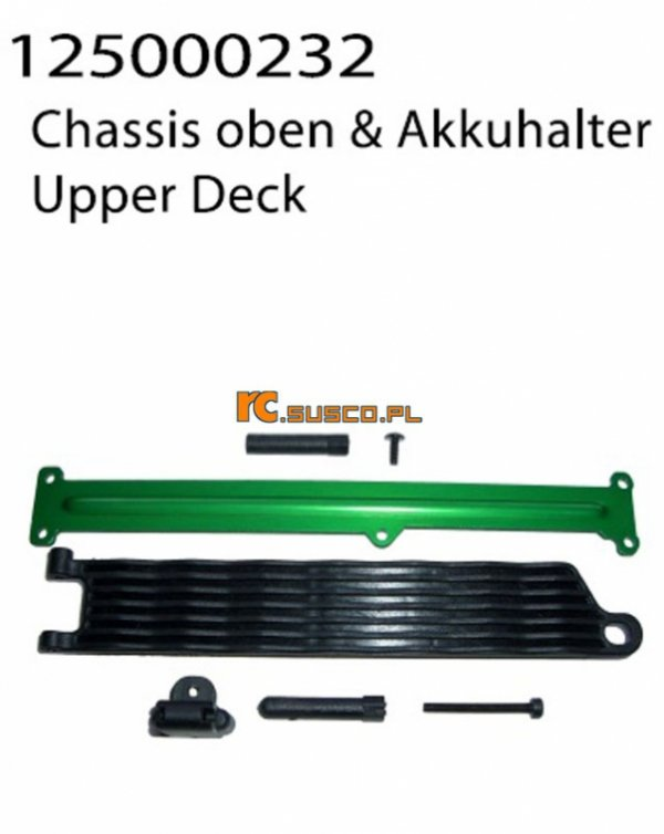 Upper Chassis and Batteryholder