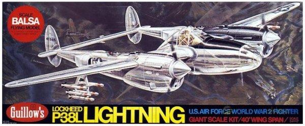 Lockheed P-38L Lightning [2001] - Samolot GUILLOWS