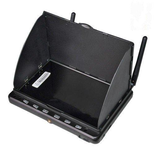 "GPX Extreme Monitor FPV HD02 + DVR 5.8GHz, 40CH, 600p, 7"", 7.4V/2000mAh"