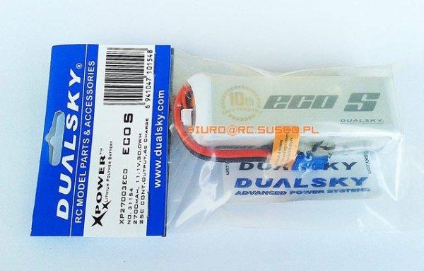 Akumulator Dualsky Li-Po 2700 mAh 25C/4C 11.1V (Do DJI Phantom)