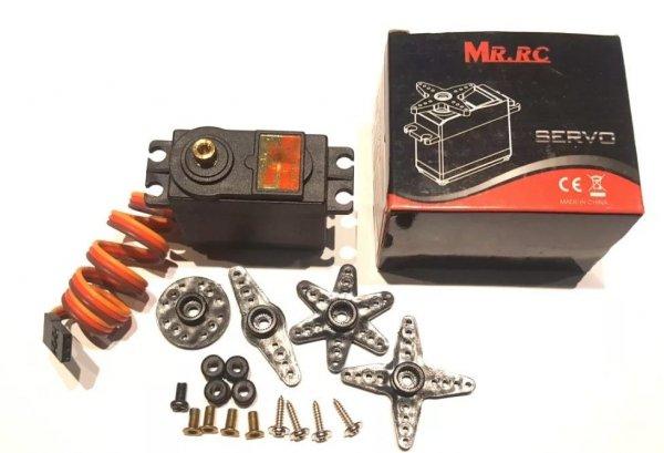 Serwo standard MRC M1504 12kg metalowe tryby, metalowa przekładnia.