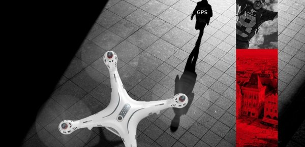 Dron RC Syma X8PRO 2.4G FPV GPS WI-FI