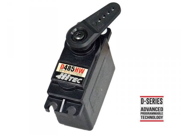 HITEC - serwomechanizm D485HW 32-Bit, Wide Voltage